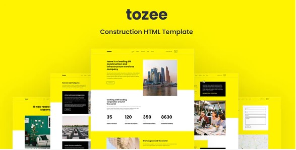 Tozee-Construction-HTML-Template-Nulled-Download