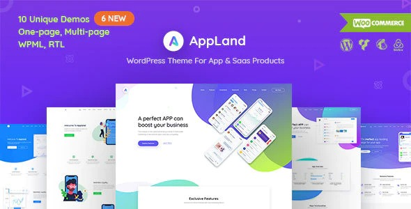 AppLand-WordPress-Theme-For-App&Saas-Products-Nulled-Download