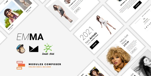 Emma-E-commerce-Responsive-Email-for-Fashion&Accessories-with-Online-Builder-Nulled-Download