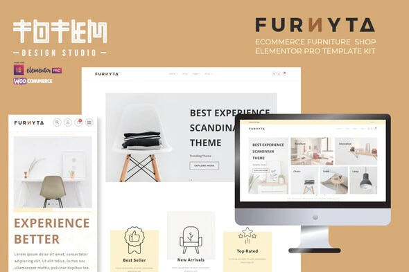 Furnitra-Modern-eCommerce-Elementor-Template-Kit-Nulled-Download