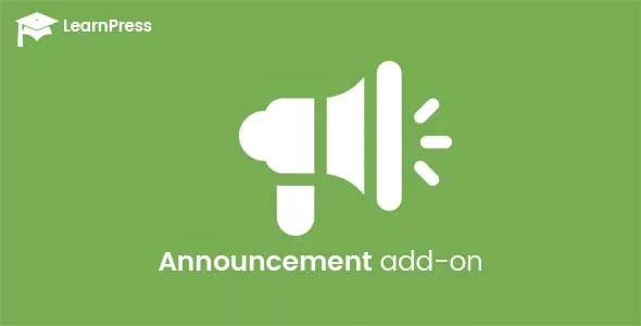 LearnPress-Announcements-Addon-Nulled-Download