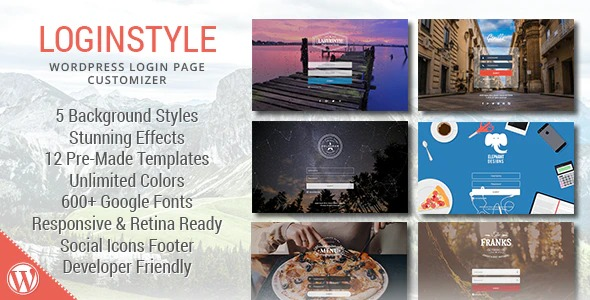 Loginstyle-WordPress-Login-Page-Styler-Nulled-Download