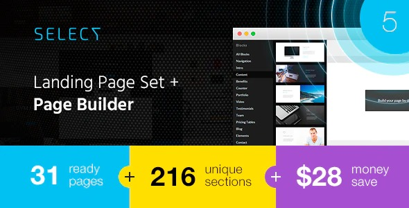 Select-Landing-Page-Set-with-a-Builder-Nulled-Download