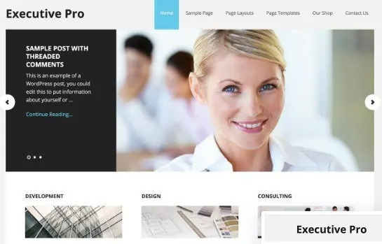 StudioPress-Executive-Pro-Genesis-WordPress-Theme-Nulled-Download