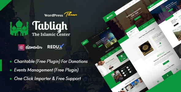 Tabligh-Islamic-Institute&Mosque-WordPress-Theme-Nulled-Download