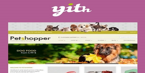 YITH-Petshopper-E-Commerce-Theme-for-Pets-Products-Nulled-Download
