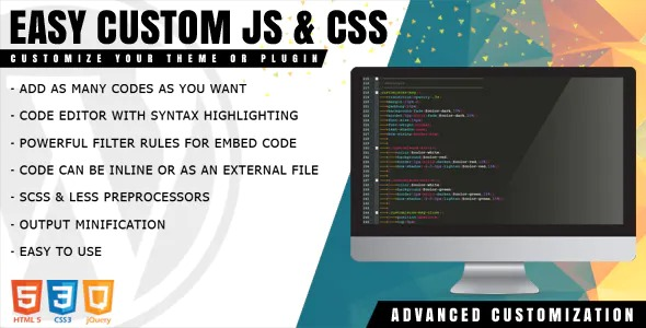 Easy-Custom-JS-and-CSS-Extra-Customization-for-WordPress-Nulled-Download