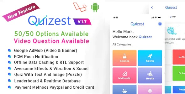 Quizest-Complete-Quiz-Solutions-With-Android-App-And-Interactive-Admin-Panel-Nulled-Download