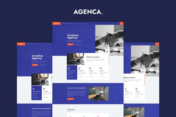 Agenca-Creative-Agency-Elementor-Template-Kit-Nulled-Download