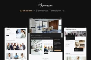 Archodern-Interior-Architecture-Elementor-Template-Kit-Nulled-Download