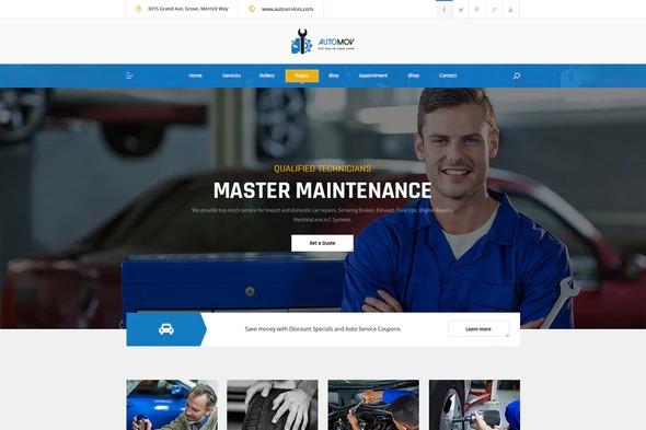 Automov-Car-Repair-Services-Elementor-Template-Kit-Nulled-Download