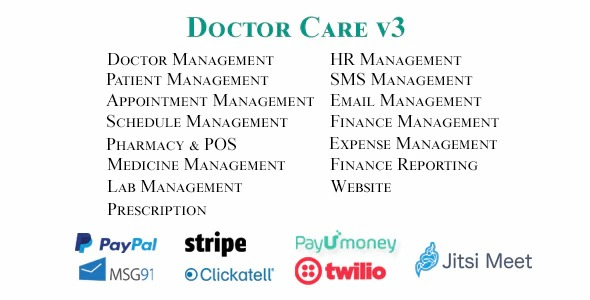 Doctor-Care-Diagnostic-Center-Doctors-Chamber-Management-System-Nulled-Download