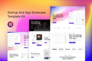 FreshApp-Startup-Showcase-Elementor-Template-Kit-Nulled-Download