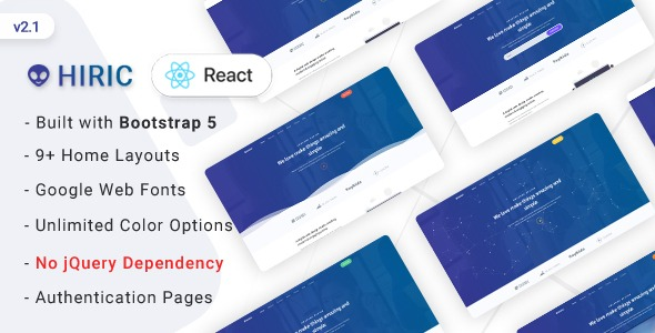 Hiric-VueJs-Landing-Page-Template-Nulled-Download