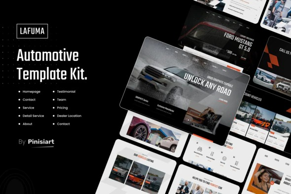 Lafuma-Automotive-Car-Rental-Elementor-Template-Kit-Nulled-Download