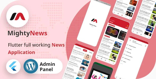 MightyNews-Flutter-2.0-News-App-with-Wordpress-backend-Nulled-Download