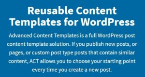Advanced-Content-Templates-for-Wordpress-Nulled-Download