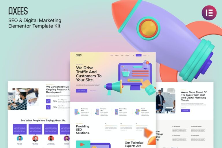 Axees-SEO-Digital-Marketing-Elementor-Template-Kit-Nulled-Download