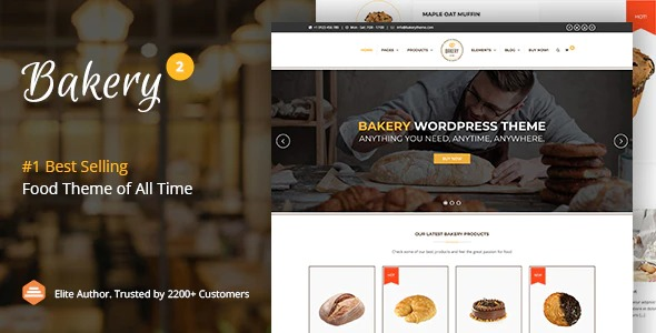 Bakery-WordPress-Cake-Food-Theme-Nulled-Download