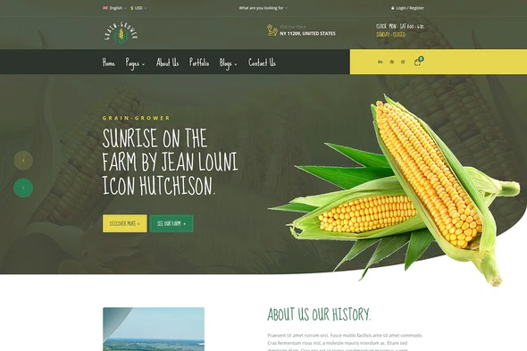 Grain-Grower-Agriculture-Farm-Farmers-Elementor-Template-Kit-Nulled-Download