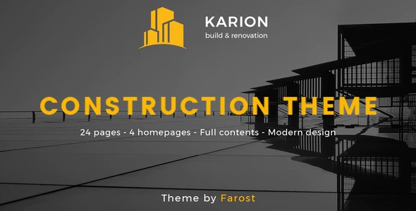 Karion-Construction-Building-WordPress-Theme-Nulled-Download