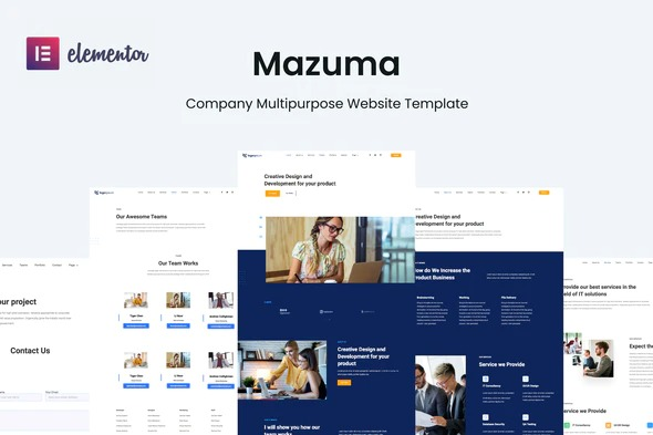 Mazuma-Business-Elementor-Template-Kit-Nulled-Download