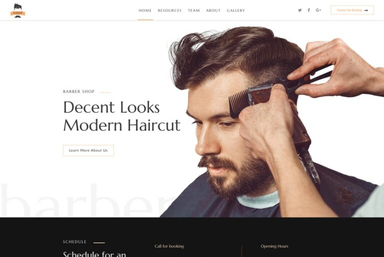 Barber-joomla-Nulled-Download