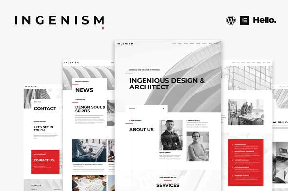 INGENISM-Architectural-Design-Agency-Elementor-Template-Kit-Nulled-Download