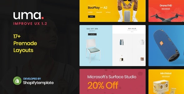 Uma-Minimal-Clean-Multiple-Shopify-Theme-Nulled-Download