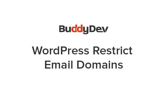 WordPress-Restrict-Email-Domains-Nulled-Download