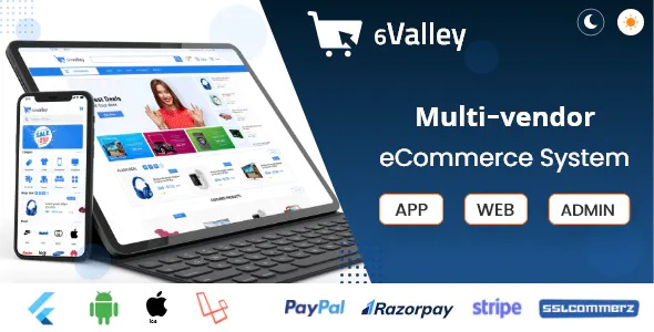 6valley-Multi-Vendor-E-commerce-Complete-eCommerce-Mobile-App-Web-and-Admin-Panel-Nulled-Download