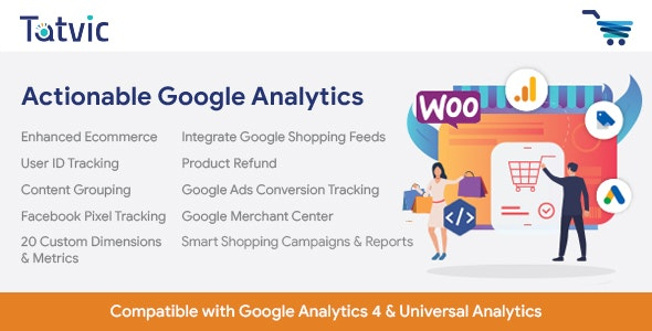 Actionable Google Analytics for WooCommerce Nulled Download